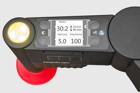 corpuls cpr Druckparameter