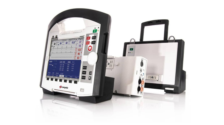 corpuls3 Module: Monitoreinheit, Patientenbox und Defibrillator/Schrittmacher